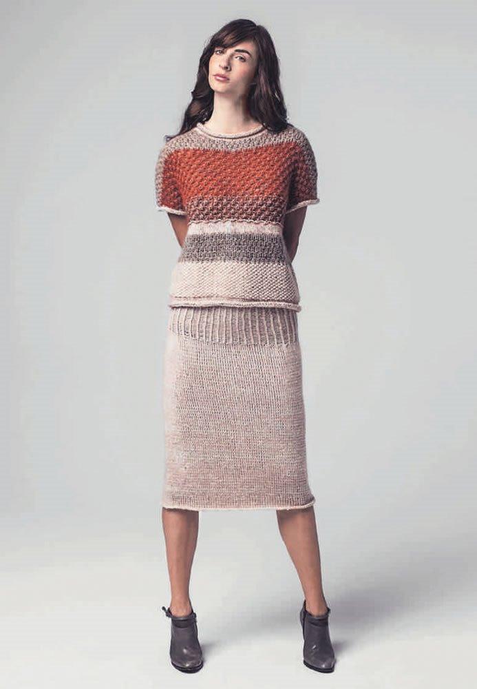 Lana Grossa KURZPULLOVER Tiffany/Pashmina/Garzato Nuovo/Silkhair/Alta Moda Alpaca