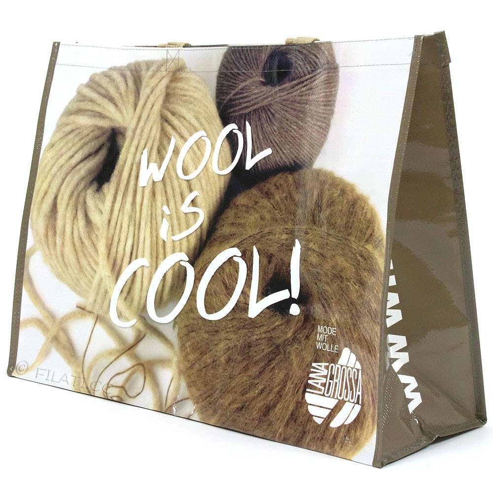Shopper WOOL IS COOL - 1 | 01-Beige/Braun/Natur