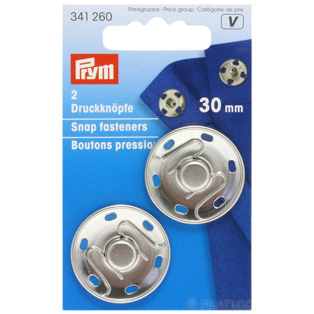 PRYM 341260/30mm | 260-Silber