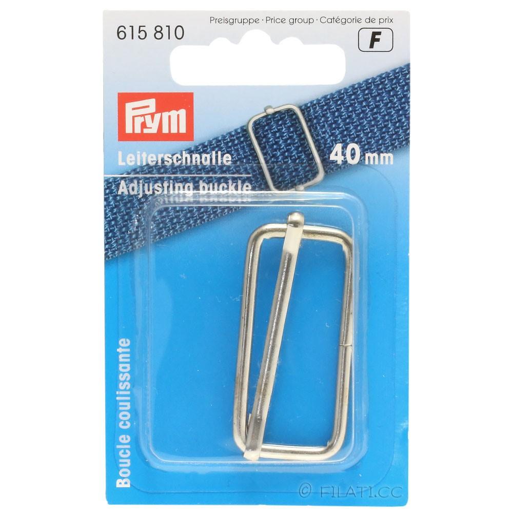 Leiterschnalle 615810/40mm | 01-Silber