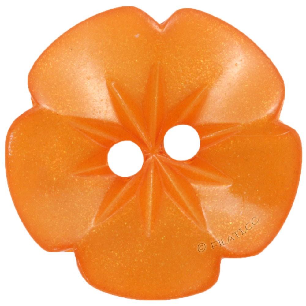 UNION KNOPF 26533/15mm | 42-Orange