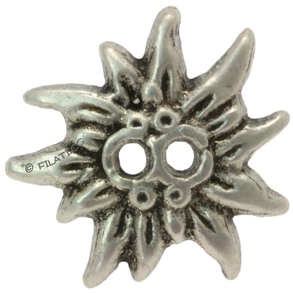 UNION KNOPF 42509/20mm | 83-Silber