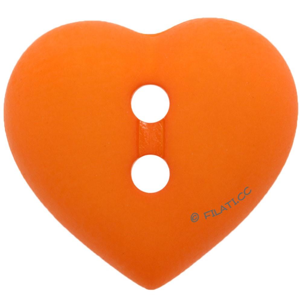 UNION KNOPF 43058/15mm   421-Orange