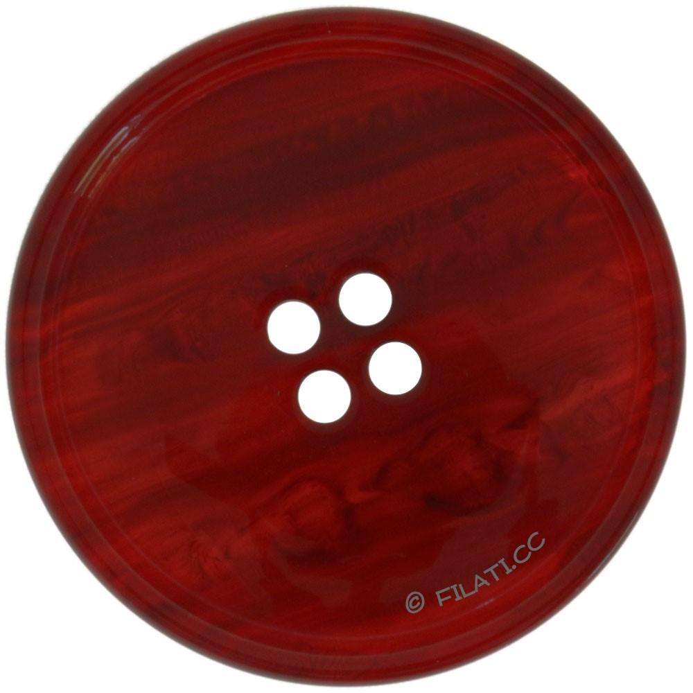UNION KNOPF 450188/30mm | 54-Dunkelrot