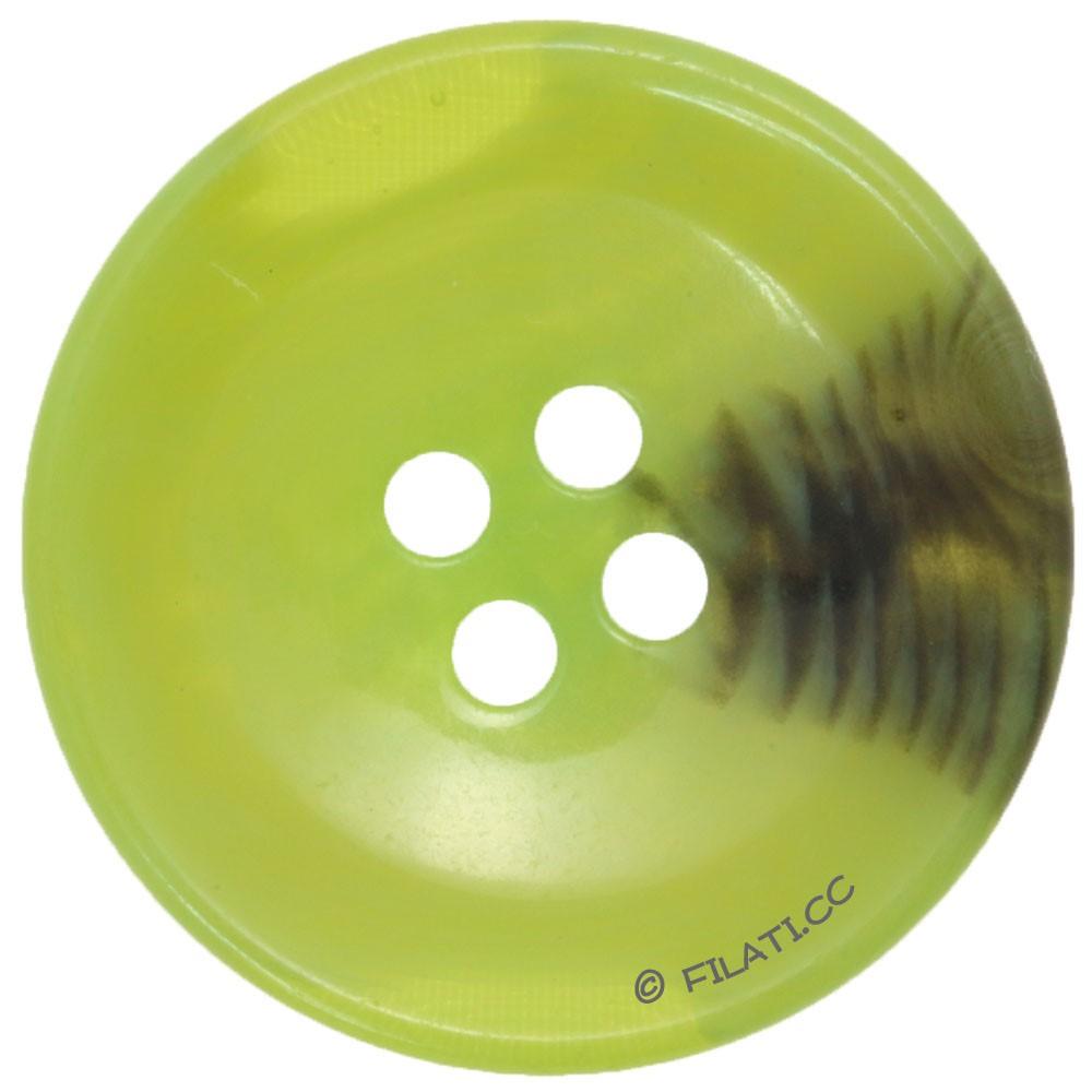 UNION KNOPF 451017/30mm | 26-grün/schwarz