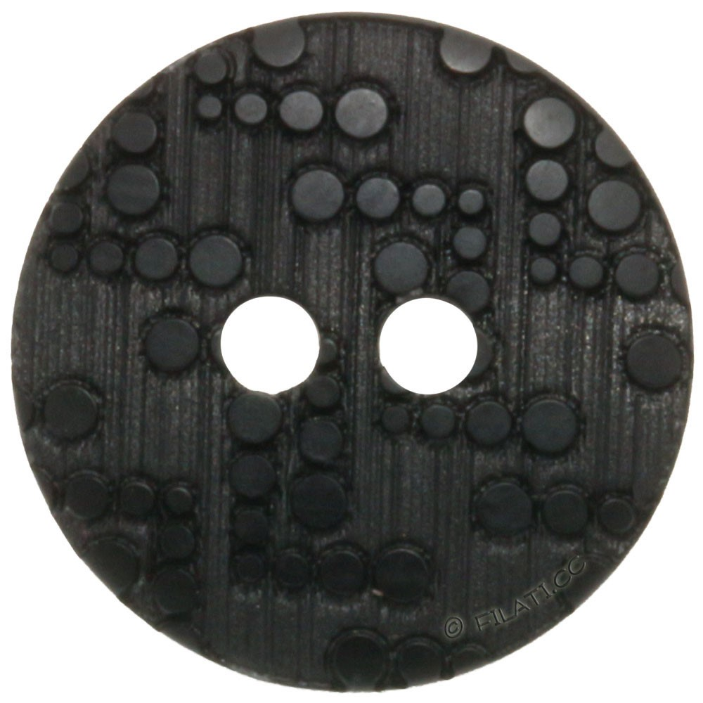 UNION KNOPF 451295/15mm | 80-Schwarz