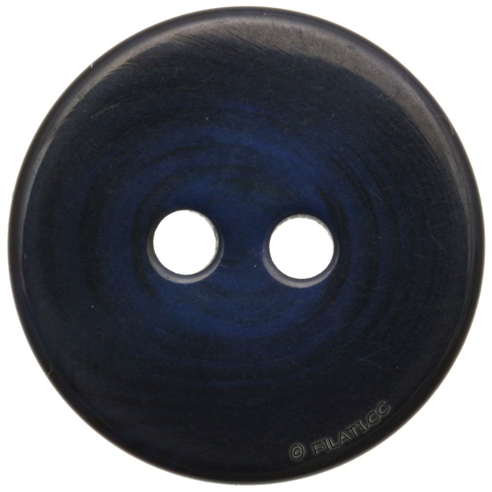 UNION KNOPF 451652/25mm | 68-Blau/Schwarz