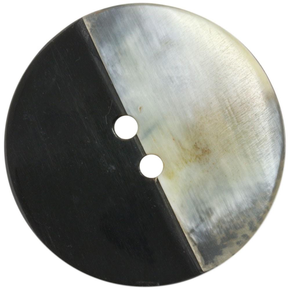 UNION KNOPF 451710/45mm | 80-Schwarz/Natur