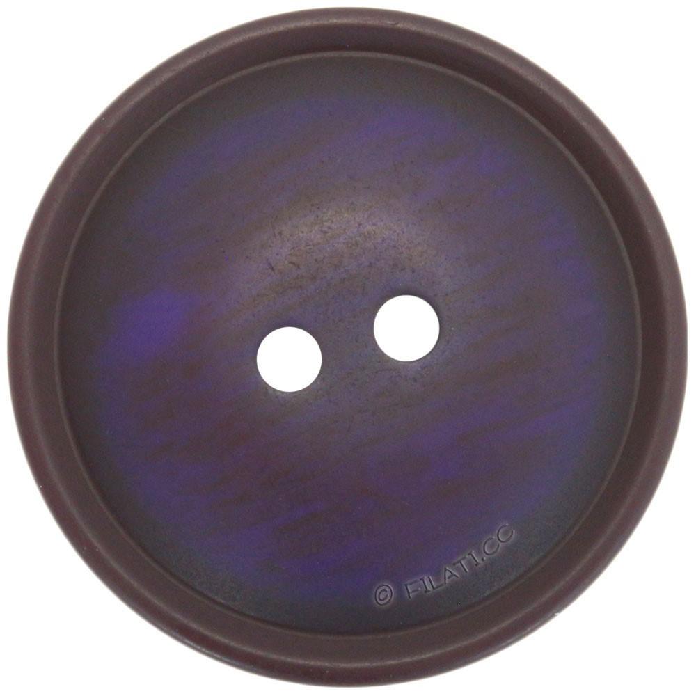 UNION KNOPF 452118/25mm | 62-Violett meliert
