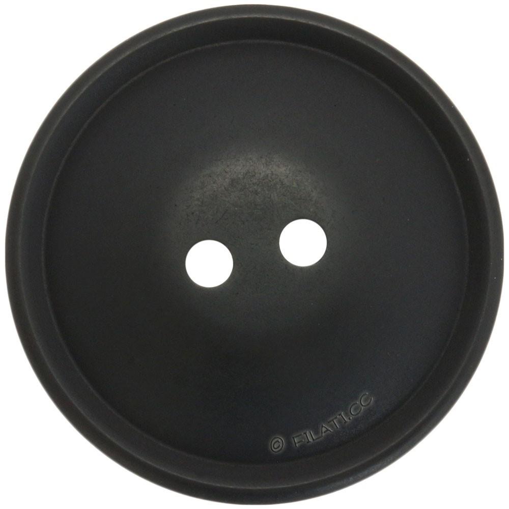 UNION KNOPF 452118/25mm | 80-Schwarz