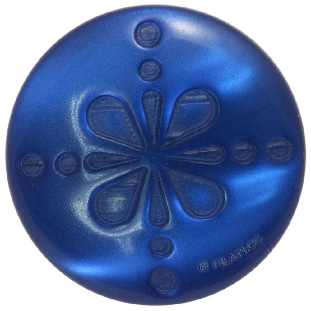 UNION KNOPF 452252/15mm | 66-Blau
