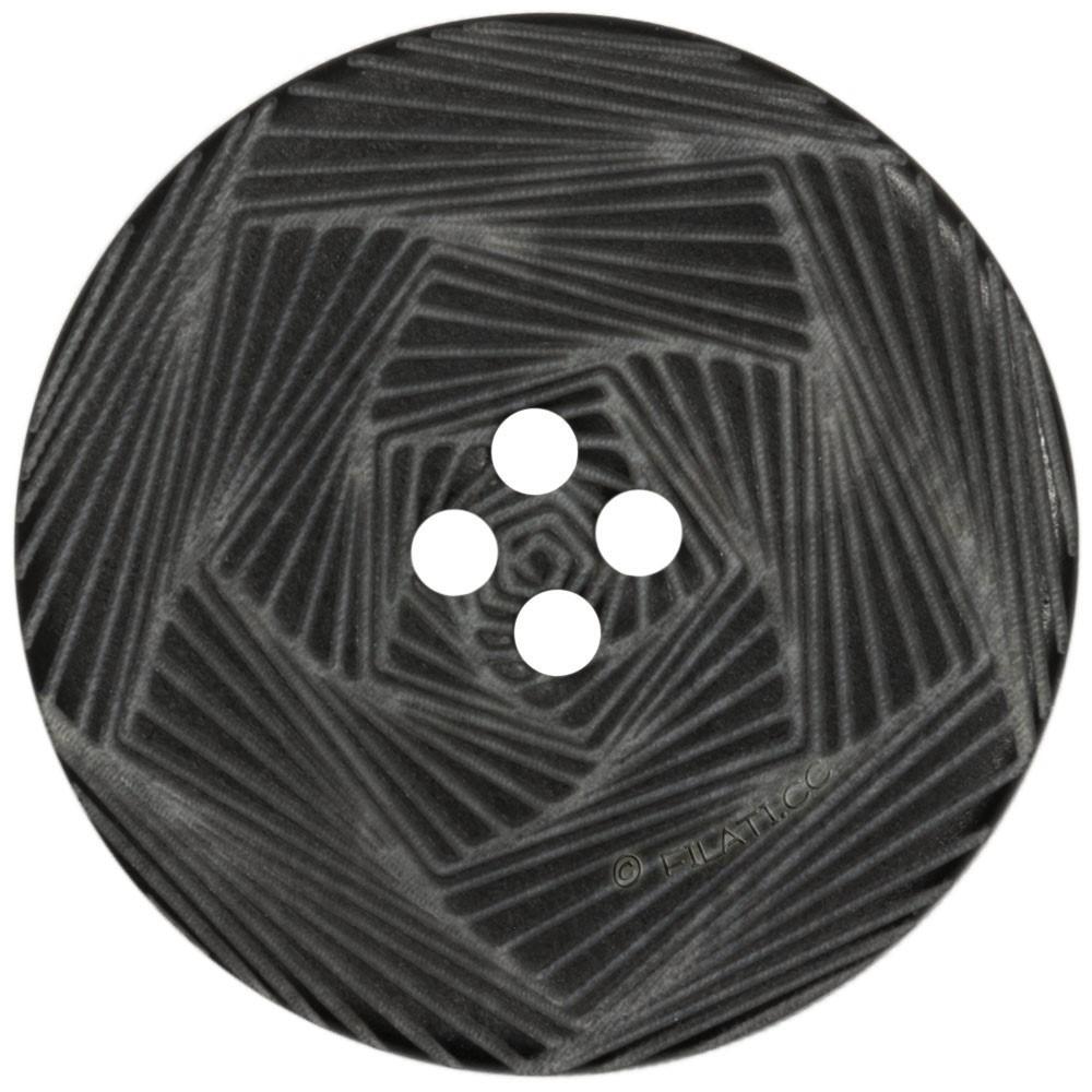 UNION KNOPF 452270/28mm | 80-Schwarz