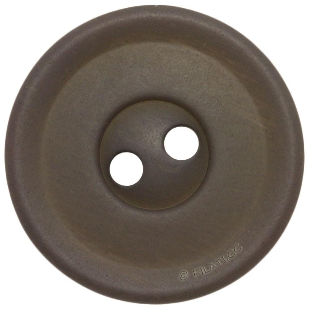 UNION KNOPF 452693/18mm | 76-Graubraun