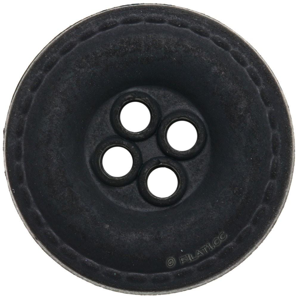 UNION KNOPF 452703/20mm | 80-Anthrazit