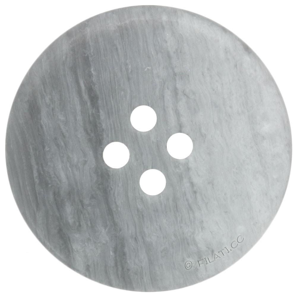 UNION KNOPF 452914/25mm | 74-Hellgrau meliert