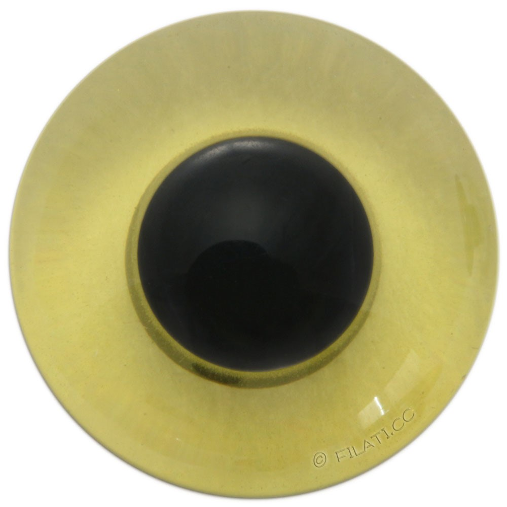 UNION KNOPF 45462/23mm | 34-Grün/Schwarz