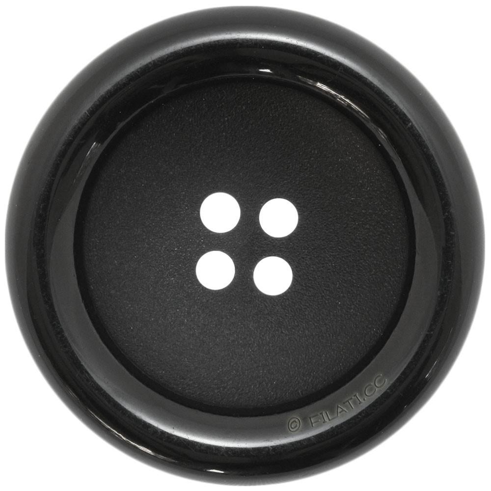 UNION KNOPF 45844/28mm | 80-Schwarz