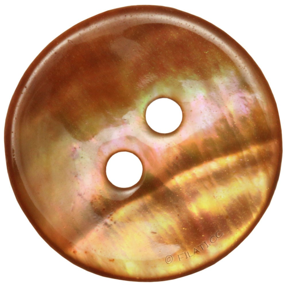 UNION KNOPF 46286/15mm | 16-Orange