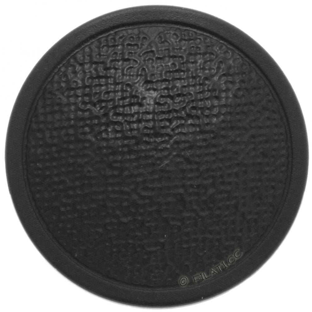 UNION KNOPF 46839/23mm | 80-Schwarz