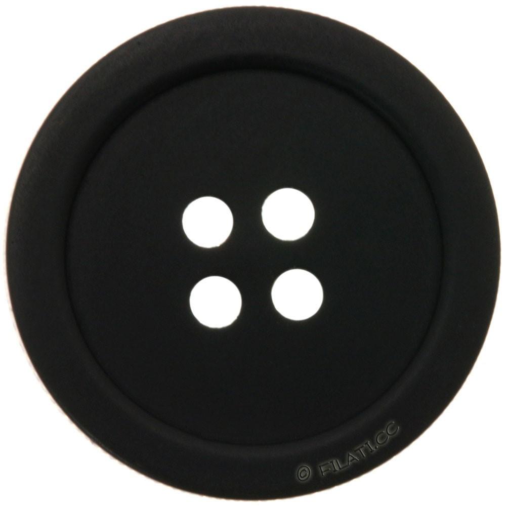 UNION KNOPF 46943/18mm | 80-Schwarz