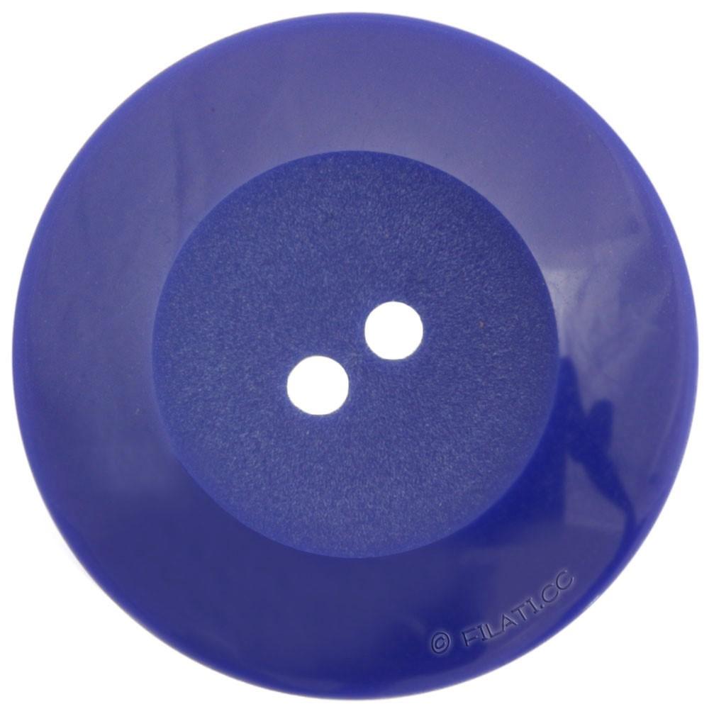 UNION KNOPF 48598/27mm | 66-Kobaltblau
