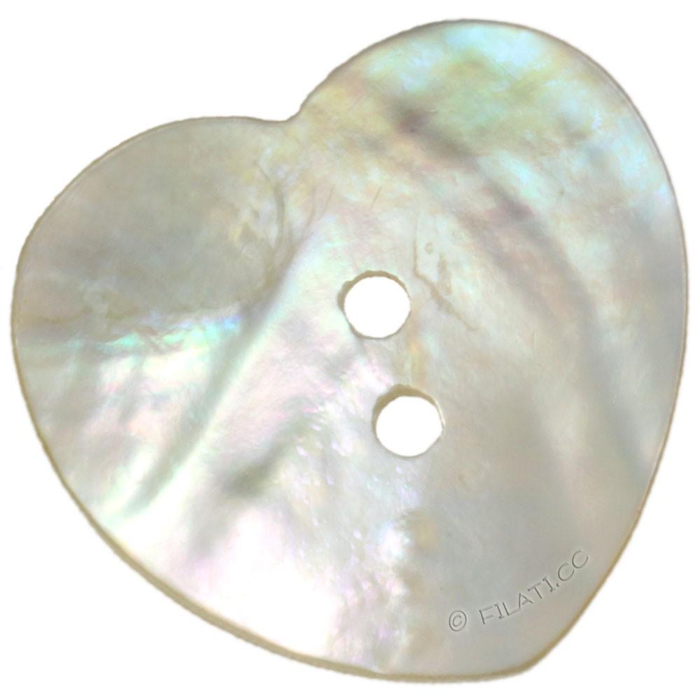UNION KNOPF 48601/25mm | 12-Perlmutt