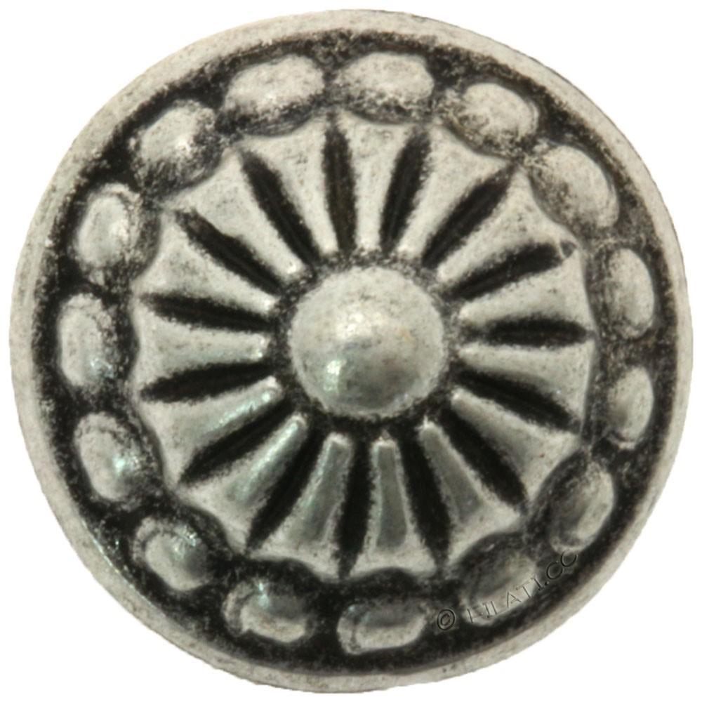 UNION KNOPF 49879/12mm | 83-Silber