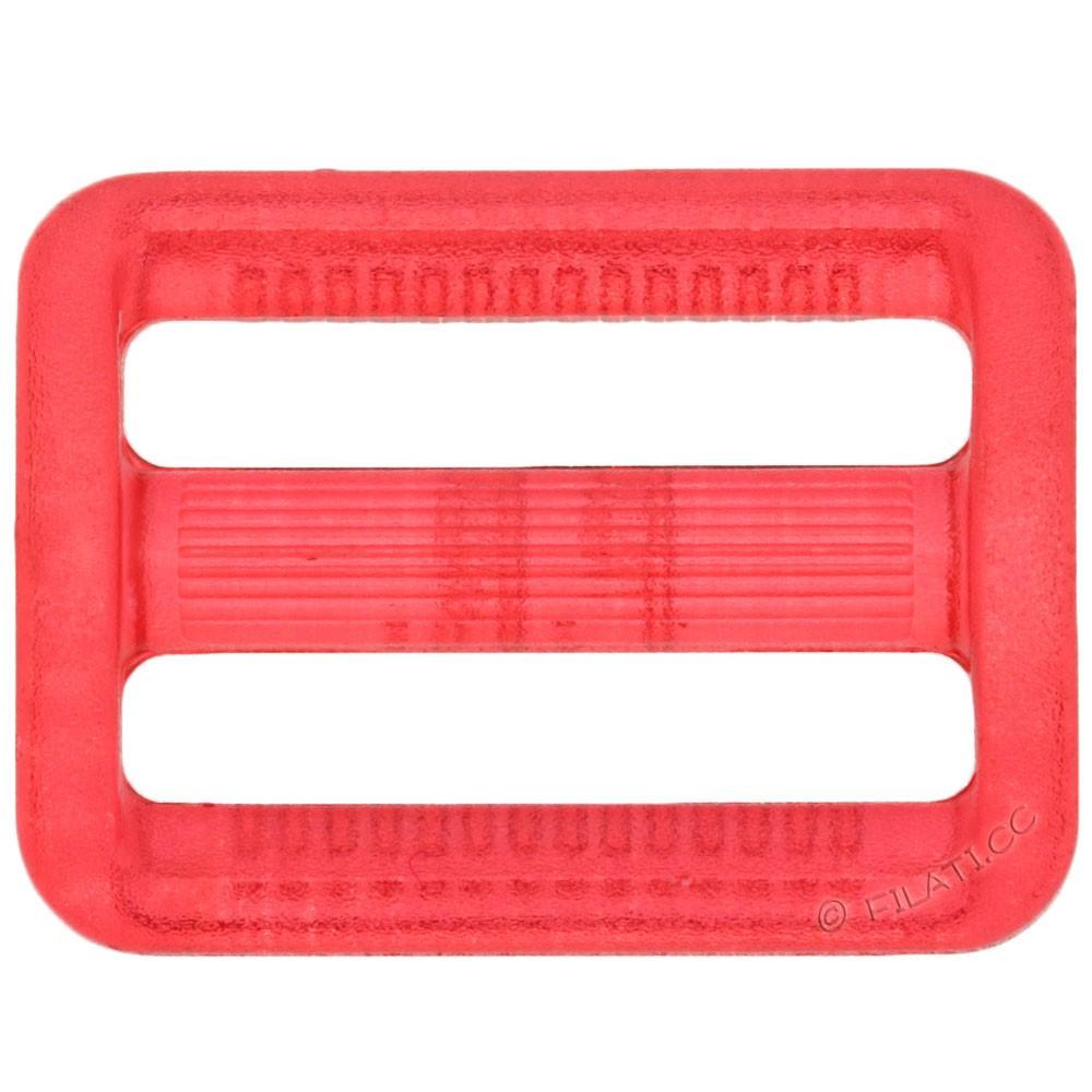 Versteller für Gurtband 500288/25mm   48-Rot