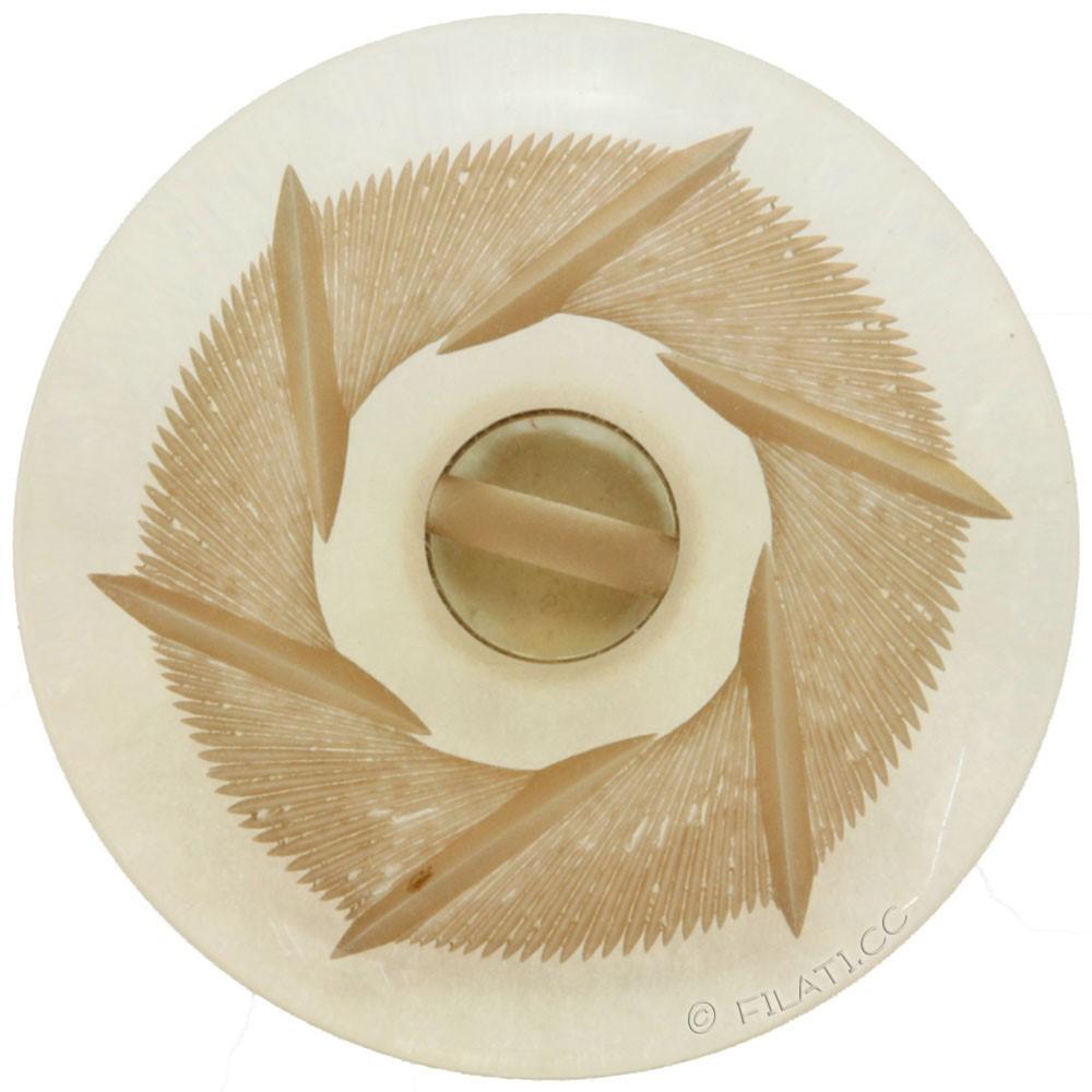 UNION KNOPF 7494/28mm | 0125-Beige