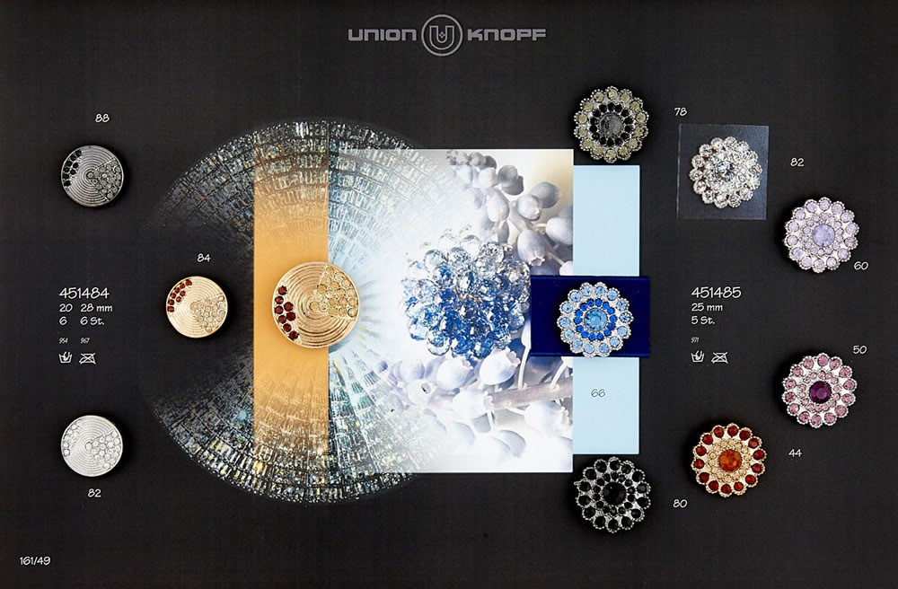 UNION KNOPF 451485/25mm