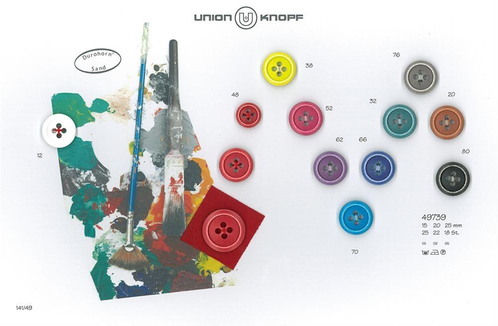 UNION KNOPF 49739/20mm