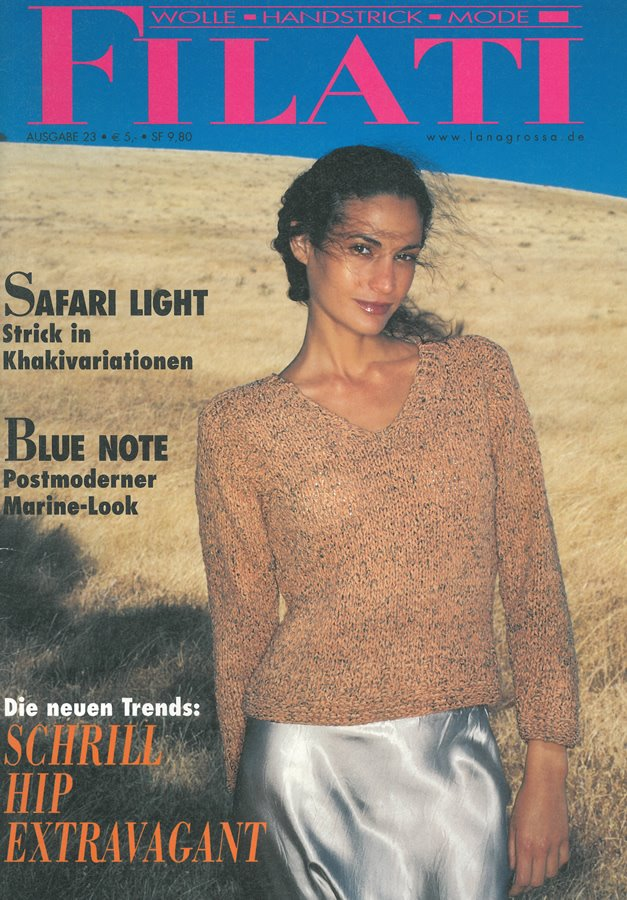 Lana Grossa FILATI No. 23 (Sommer 2002)