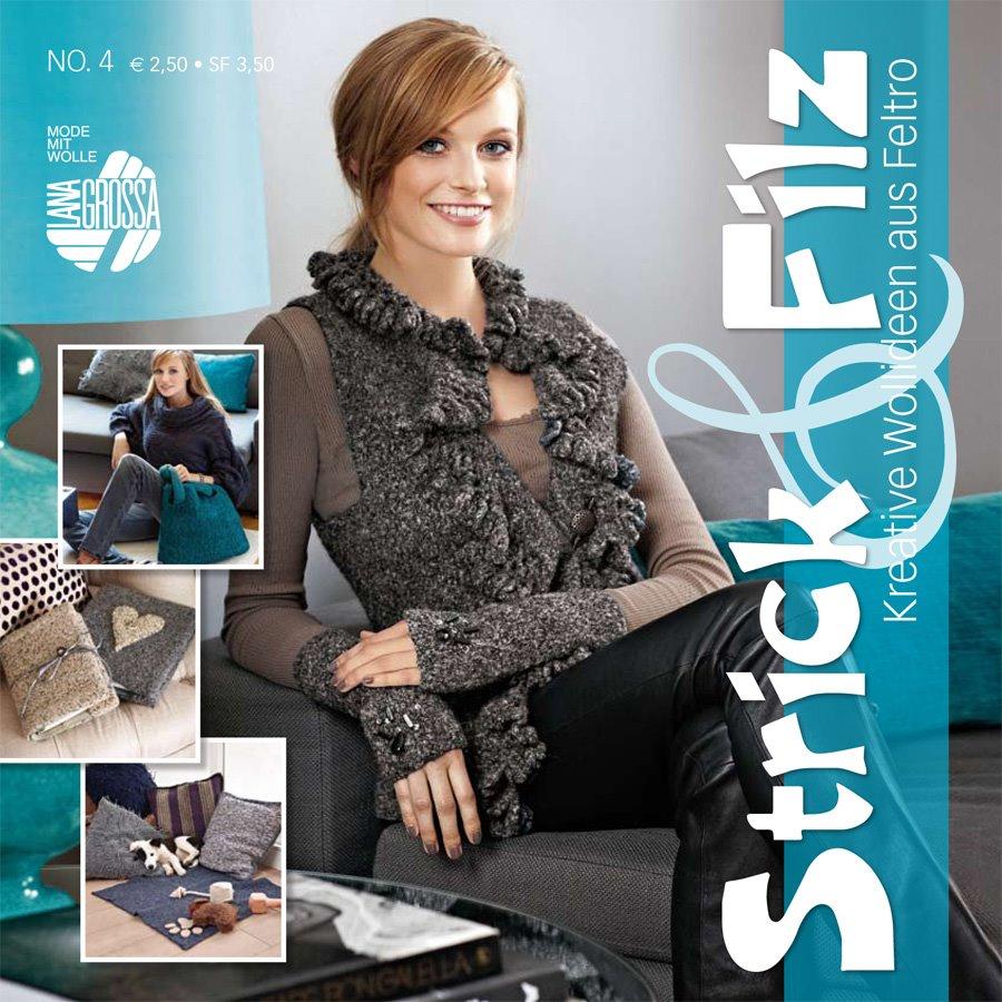 Lana Grossa STRICK & FILZ No. 4
