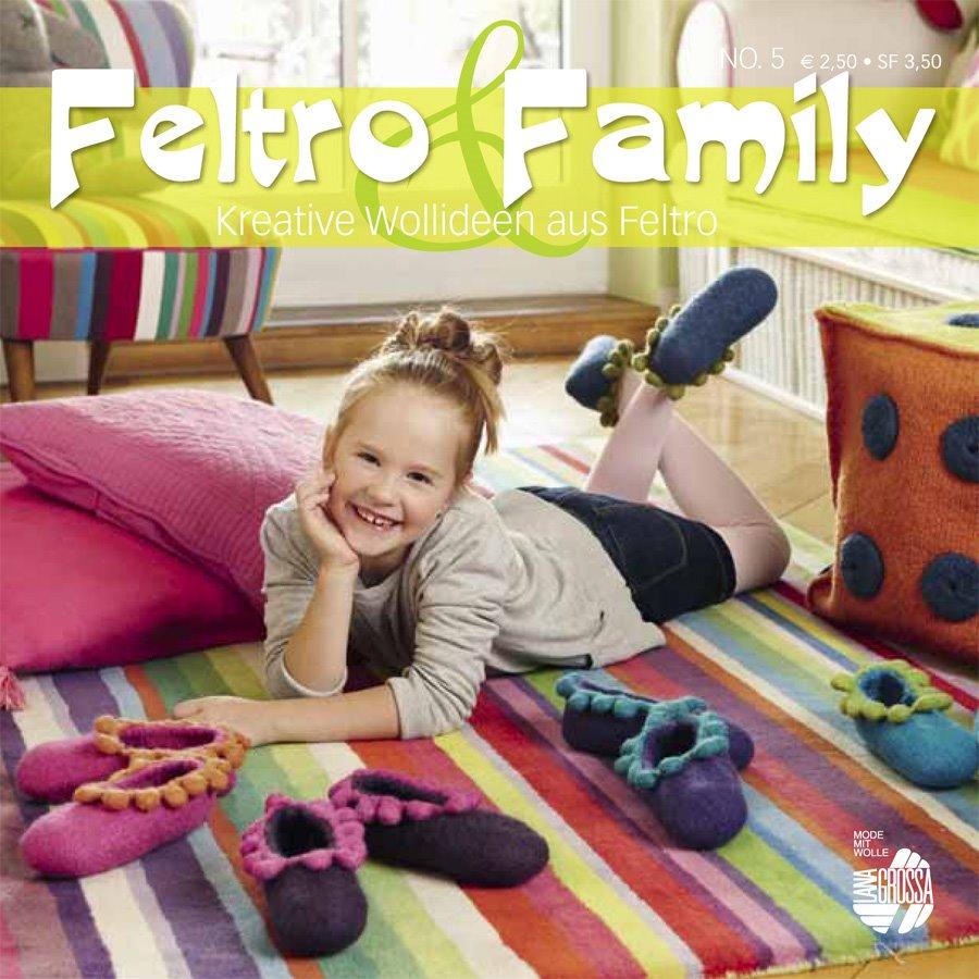 Lana Grossa STRICK & FILZ No. 5 (Feltro & Family)