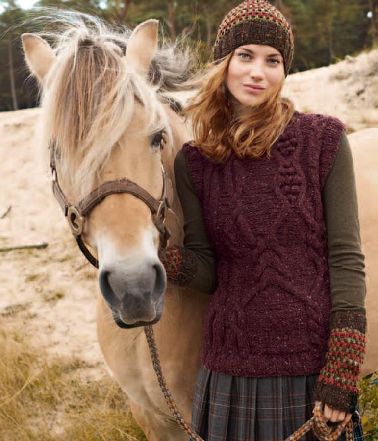 Lana Grossa ARMSTULPEN Royal Tweed