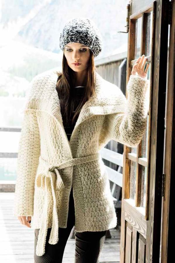 Lana Grossa KIMONO-LONGJACKE Alta Moda Super Baby