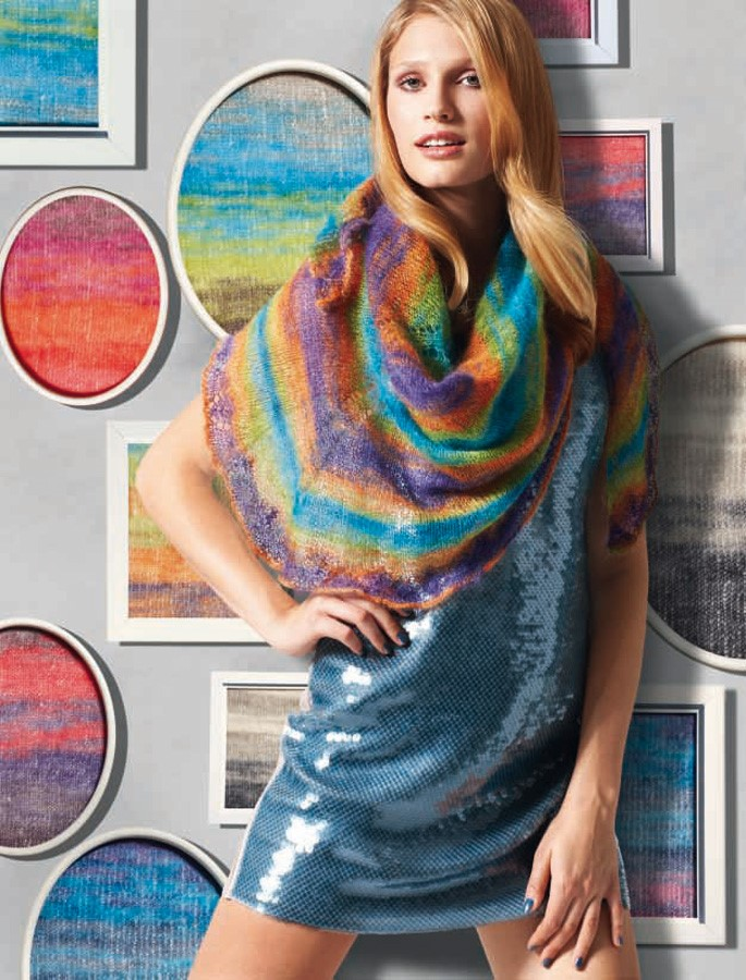 Lana Grossa TUCH Silkhair Print