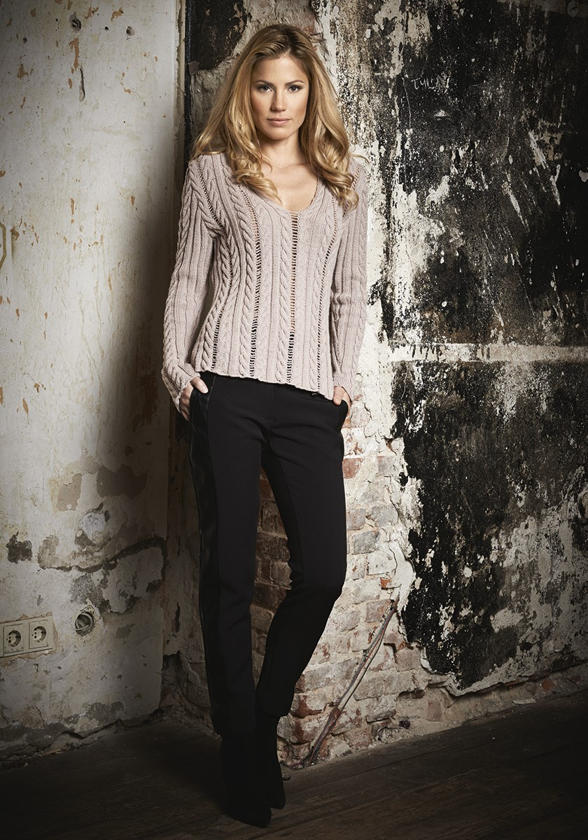 Lana Grossa ZOPFPULLI Cool Wool
