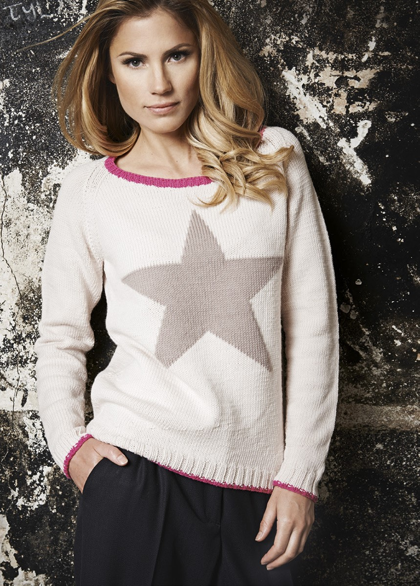 Lana Grossa PULLI MIT STERN Cool Wool Big
