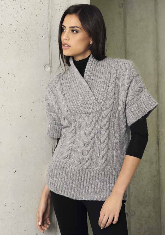 Lana Grossa ZOPFPULLUNDER Cool Wool big