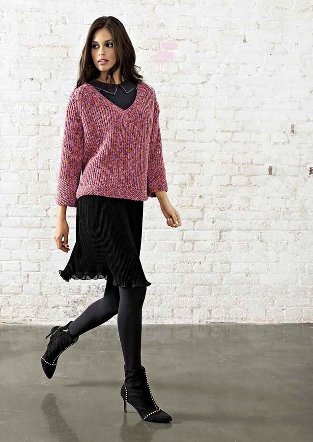 Lana Grossa RAGLANPULLI Cool Wool Print