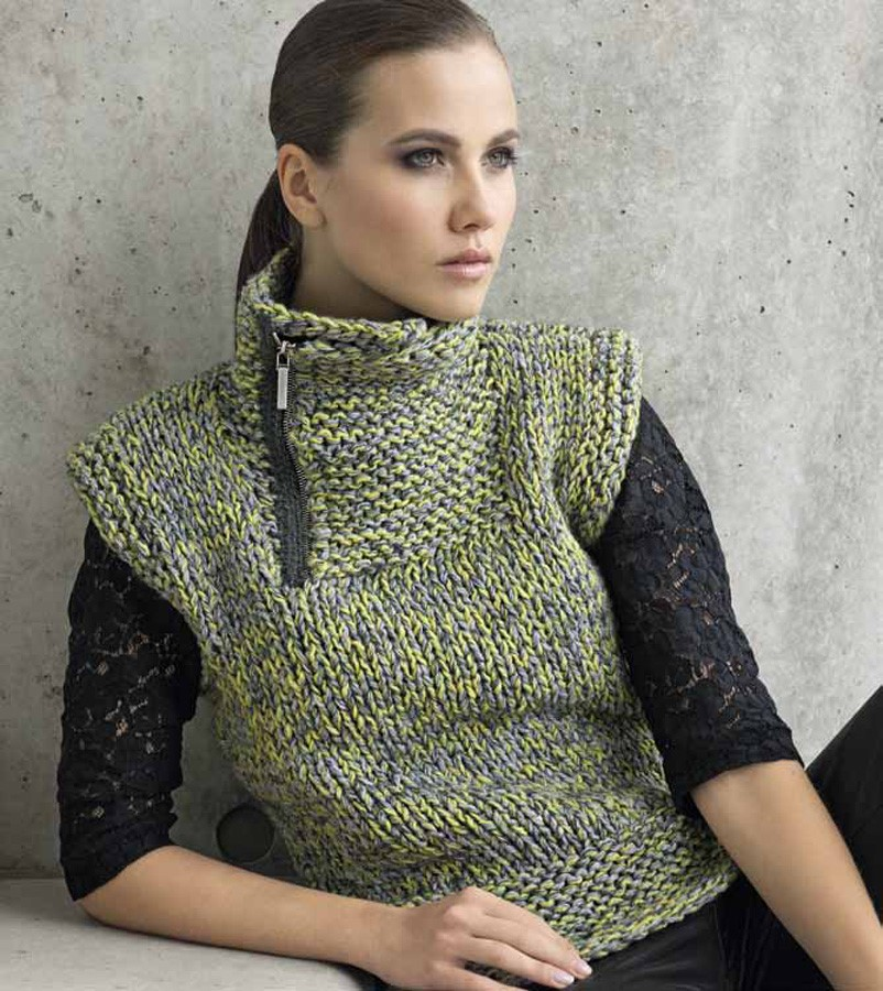 Lana Grossa PULLUNDER Royal Tweed - Lace Lux - Silkhair