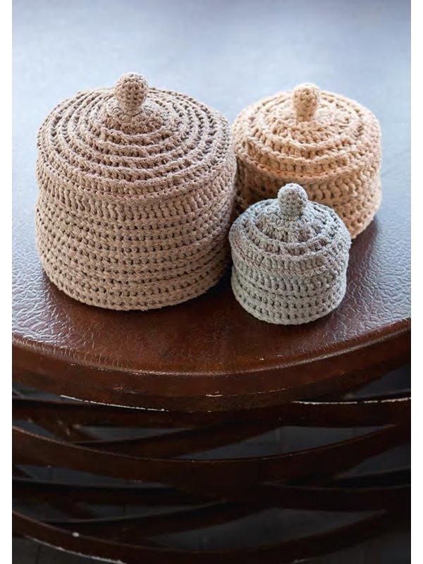 lana grossa grosse dose mit deckel paradiso filati handstrick no 47 home modell 18 1. Black Bedroom Furniture Sets. Home Design Ideas