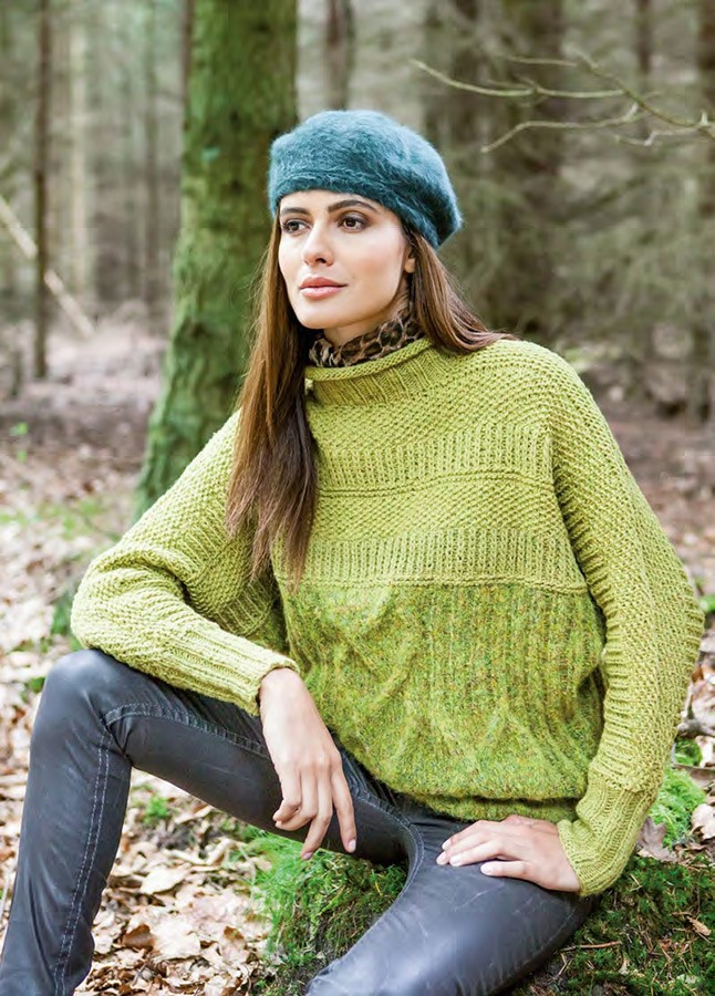 Lana Grossa PULLI Garzato Fleece/Merino Air