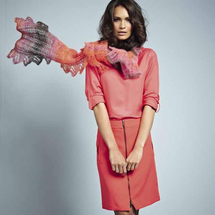 Lana Grossa SCHAL Silkhair print