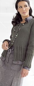 Lana Grossa Jacke COOL WOOL big