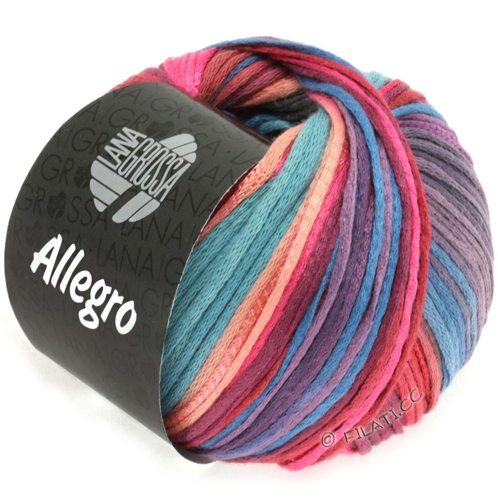 Lana Grossa ALLEGRO | 012-Pink/Lachs/Violett/Graublau/Rotbraun