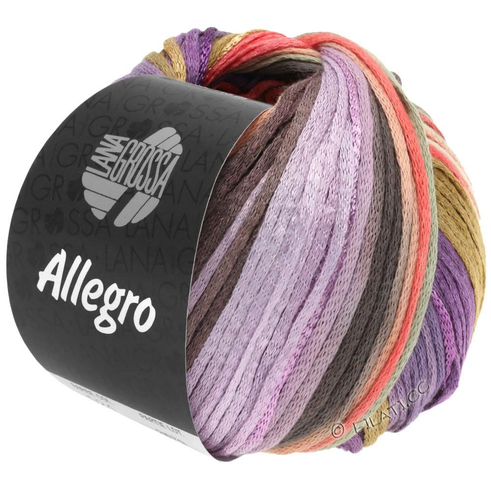 Lana Grossa ALLEGRO | 030-Violett/Lachs/Beige/Natur/Flieder/Taupe/Hellgrau