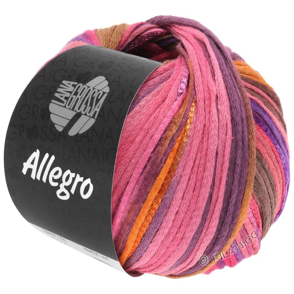 Lana Grossa ALLEGRO | 031-Pink/Orange/Violett/Zimt