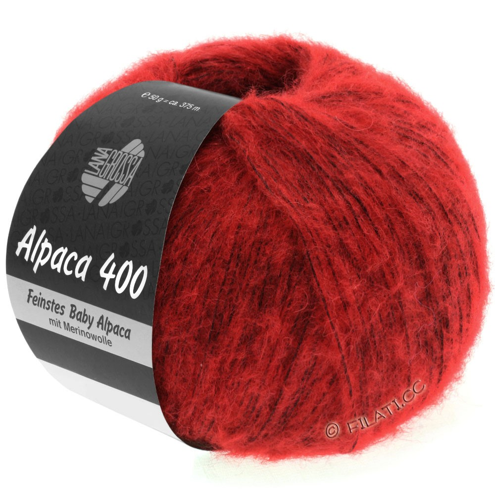 Lana Grossa ALPACA 400 | 08-Rot